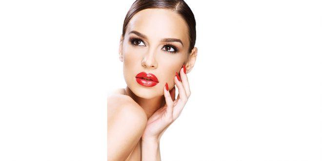 Lippen, rot wie die Liebe!