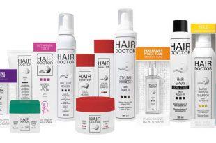 HAIR DOCTOR – Professionelle Haarpflege- und Stylingprodukte mit Wirkstoff-Formel