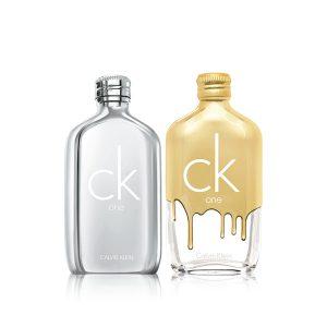 CALVIN KLEIN CK ONE PLATINUM UND CK ONE GOLD