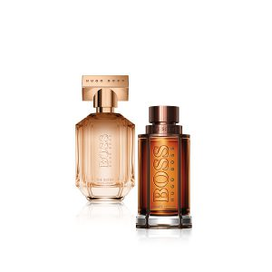 BOSS THE SCENT PRIVATE ACCORD FOR HER UND BOSS THE SCENT PRIVATE ACCORD FOR HIM